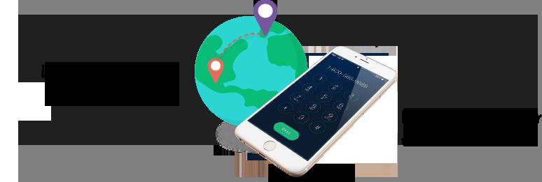 Lorsque votre numéro virtuel est appelé, l'appel est renvoyé sur votre cellulaire.